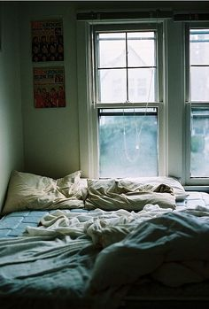sophie calle anyone one? Unmade Bed, My Sun And Stars, Where The Heart Is, My Room, Dorm Room, Interior And Exterior, Interior Design, At Least, Sweet Home