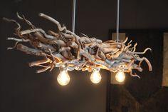 takken lamp met brocante takken www takkenlampen nl – Life ideas Driftwood Chandelier, Chandelier Lighting, Branch Decor, Wood Lamps, Unique Lamps, Bedroom Lamps, Led Lampe, Floor Lamp, Light Fixtures