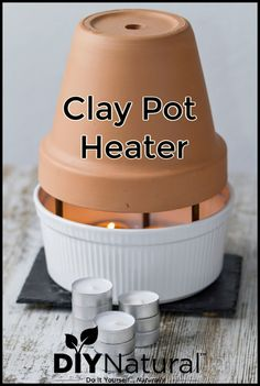 A clay pot heater is a simple and effective emergency heat source. Let& learn how to make them and what types of candles to use for minimal soot and ash. Emergency Preparedness Kit, Emergency Preparation, Emergency Supplies, Emergency Food, Survival Life Hacks, Survival Food, Survival Prepping, Survival Skills, Wilderness Survival