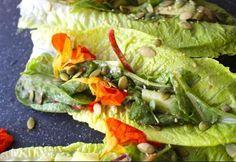 kanapka z sałaty, czyli popularny wrap na zdrowy sposób