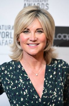 Anthea Turner is one of the celebs in the new series of SAS: Who Dares Wins - here's your need-to-know on her. Short Hair With Layers, Layered Hair, Anthea Turner Hairstyles, Sexy Older Women, Sexy Women, Susanna Reid, Blue Peter, Yummy Mummy, Recent Events