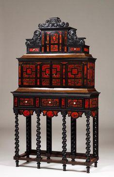 A 19th century Mannerist cabinet