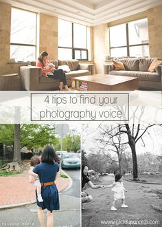 4 Tips to Finding Your Photography Voice by Parikha Metha via Click it Up a Notch