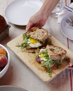 Huck's fried egg sandwich #huckleberry #goopcookbookclub