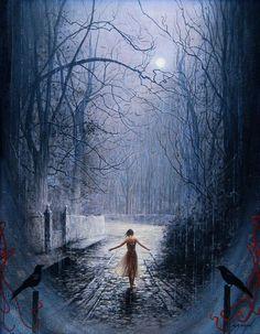 artmonia:  Dancing in the Moonlight by Gilles Grimoin.