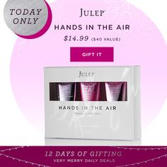 12 Days of Gifting. Good until 11:59 P.M. Check this site daily for each new deal!