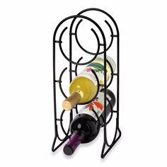 3-Bottle Metal Wine Rack Display Holder Storage Solid Black Home Decor | Home & Garden, Kitchen, Dining & Bar, Bar Tools & Accessories | eBay!