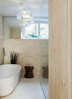 Neutral grey home deco natural style living bath room