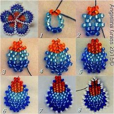 Image result for Seed Bead Flower Patterns