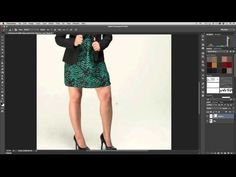 How to Add a Reflection of your Subject on the Floor in Adobe Photoshop - YouTube
