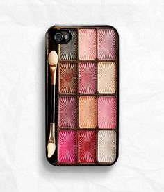 The iPhone Makeup Palette Case ... even with brush!
