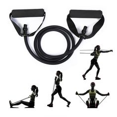 Gym Workout For Beginners, Fitness Workout For Women, Workout Videos, Yoga Fitness, Thigh Toner, Best Shapewear For Tummy, Sup Yoga, Resistance Band Exercises, Physical Fitness