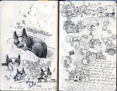 75 Exceptional Moleskine Notebook Artworks photo