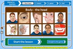 French games : fun learner games for kids and adults learning French – free website - tutorial and games on a range of topics Learn French Free, Learn To Speak French, How To Speak Spanish, Free French, French Language Learning, Learn A New Language, Learning Spanish, Spanish Language, Spanish Activities