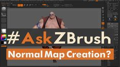 "#AskZBrush: ""How can I create a Normal Map for a model inside of ZBrush?"" Video covers how to create a Normal Map for a single Subtool inside of ZBrush. Sub..."