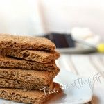paleo graham crackers * use gelatin egg substitute for egg - aip compliant