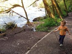 A List of easy hikes with young children (Washington)