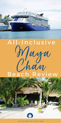 Are you planning a Caribbean cruise vacation that makes a stop in Costa Maya? If you are looking for a unique shore excursion then this just might be for you. Here is our review of the all-inclusive Maya Chan Beach Resort. From all of the activities, dining & drink reviews, and how to get there just to name a few. Check out our post for all the details of this all-inclusive resort, and all it has to offer. Start planning your next cruise destination now! Southern Caribbean, Caribbean Cruise, Royal Caribbean, Packing List For Cruise, Cruise Vacation, Cruise Destinations, Amazing Destinations, All Inclusive Resorts, Beach Resorts