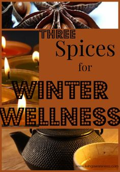 Unfortunately cold and flu season follows hot on the heels of the holiday season. Unfortunately cold and flu season follows hot on the heels of the holiday season. Check out how to use the holiday spices to keep well this winter http://livingawareness.com/3-spices-winter-wellness/