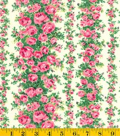 Will make a little blouse of this one to bring with on trip: Gertie Collection Fabrics-Swiss Dot Rose Garden Pink