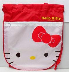 Hello Kitty Drawstring Bag With Handle