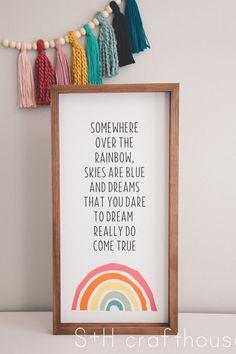 Rainbow Room, Rainbow Nursery, Rainbow Theme, Nursery Room, Girl Nursery, Kids Bedroom, Bedroom Decor, Boutique Interior, Home Depot