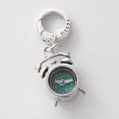 Alarm Clock Charm. Fossil.