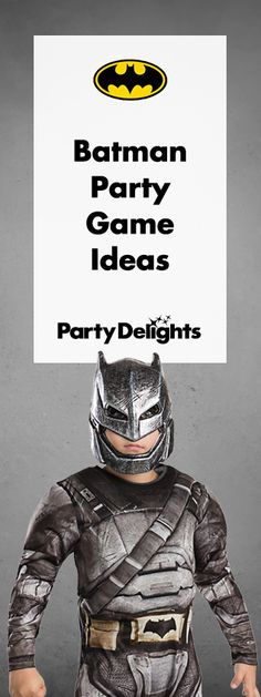 Throwing a Batman party? Read our Batman party game ideas for loads of fun party games to keep your guests entertained! Perfect for a superhero party or kids' birthday bash.