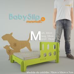 Caminha para Cães e Gatos BabySlip Minimall – Tamanho M – Doguim