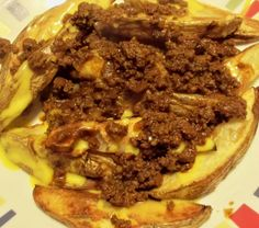 A New Leaf: In the Kitchen with Jason: Texas Chili Cheese Fries Appetizer Salads, Appetizer Recipes, Appetizers, Mexican Food Recipes, Beef Recipes, Yummy Recipes, Chili Cheese Fries, Texas Chili, French Fries Recipe