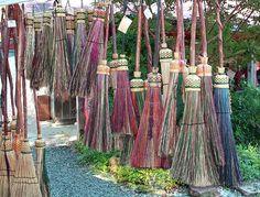 Handmade Brooms Photograph  - Handmade Brooms Fine Art Print