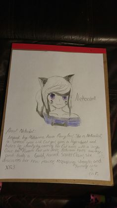 DAY ONE: Hey guuuyyss!!! This is my OC for the 30 day OC CHALLENGE!!! Her name is Nekoaimi, a Cat girl. Any way plz check out more of my art and friends at Kawaii Otaku Club@  (me)Purinsesu- dakiunykon@ K Sakura@ Esmy the pony@ and Bethany@ THANK YOOUUU!!!