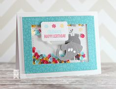Party Pachyderms for Lil' Inker Designs! Also used Speech Bubbles 2 and Stitched Mats: Dual Stitched Rectangles. http://lilinkerdesigns.com/#_a_akolling