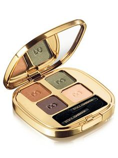 Dolce & Gabbana  Smooth Eye Colour Quad     Dolce & Gabbana  Smooth Eye Colour Quad  [This product rates 5 out of 5 stars from 10 customer reviews]  Read 10 Reviews  Write a review  EXCLUSIVELY AT SAKS. Designed for the woman that loves to enhance her eyes, the colours of the eyeshadow collection are presented in beautiful combinations and set in a selection of Quads and Duos. True to Dolce & Gabbana form, shades range from subtle to vivid and take pride in subversive contrast.