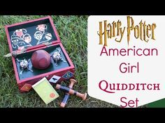 How to make American Girl Quidditch Set - YouTube