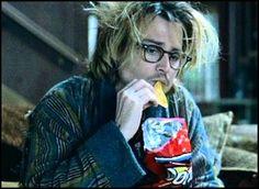 hahaha the best part of Secret Window is his hair