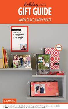 Mix and match photos and monograms for gifts that will brighten up 2015.