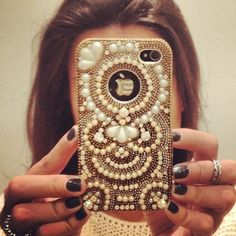 Decorated iPhone Cover