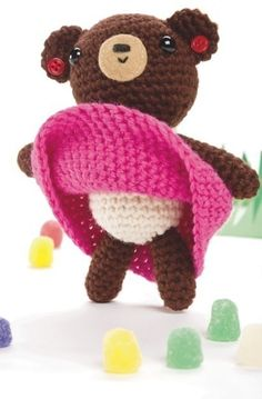 Girl Bear Amigurumi ~ Free Pattern