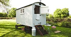 The Shepherds Return West Sussex is a traditionally styled shepherd's hut with lovely countryside views.