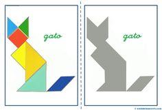 Tangram, figuras para imprimir online pretendo facilitar información y aportar…