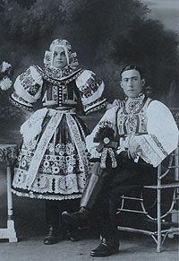 Moravian Wedding Costume