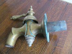 Online veilinghuis Catawiki: Grote bronzen waterkraan - België - begin 20e eeuw