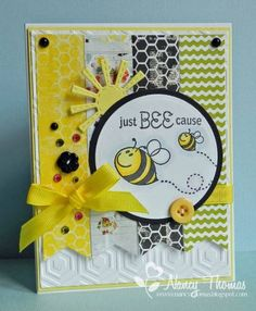 FS387 - Just Bee Cause by nancyt - Cards and Paper Crafts at Splitcoaststampers