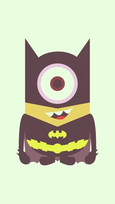 cool bat man minion iphone 6 plus wallpaper - Despicable Me, 2014 Halloween #iphone #wallpaper