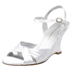 Colorful Creations Women's Heaven Wedge Sandal,White Dyeable Satin,9.5 B(M) US  Colorful Creations , http://www.amazon.com/dp/B002PJ5CVG/ref=cm_sw_r_pi_dp_sNNFpb00TJB5V