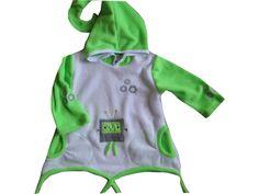 Fleece Zipfelpullover Pullover Neon  von me Kinderkleidung und ersatzbezuege auf DaWanda.com
