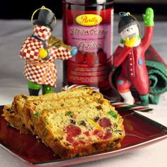 Brandied Pineapple Cream Cheese Fruitcake - no need to make fruitcake weeks in advance; fresh, ripe, golden pineapple for moisture and a cream cheese batter for richness is the key to this easy shortcut recipe. Plenty of brandy gets soaked in too, just to make it extra festive. If you choose, the brandy is not at all necessary to enjoy this beautiful cake just as it is.