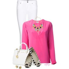 """""""Cheerful Spring Style"""" by kginger on Polyvore"""