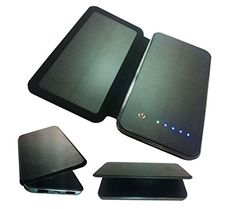 Solar Charger, Solar External Battery Pack, Portable Solar Power Bank Backup…
